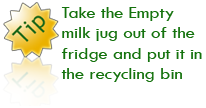 The Recycling Center - Recycling Tip 3